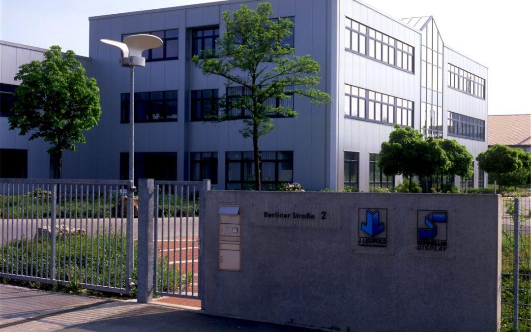 Produktionsgebäude Firma Leupold